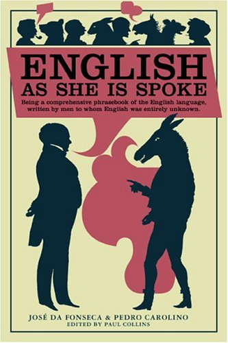 English Book Cover Pictures : English as she is spoke book cover archive