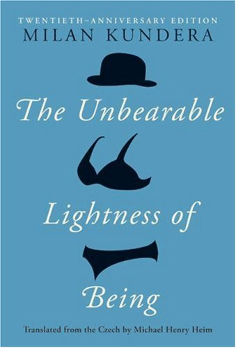 The Unbearable Lightness of Being : Book Cover Archive